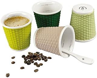 Les Artistes 3 fl.oz Honey Cups, Set Of 4, Multi-Colour, A-0793