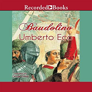 Baudolino audiobook cover art