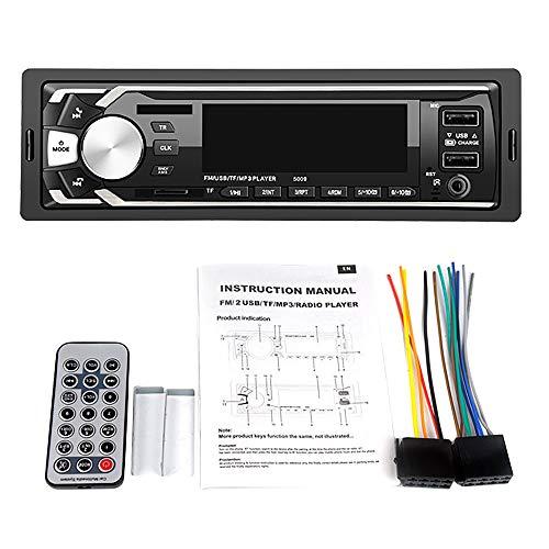 SNOWINSPRING V3.0 Teypleri Auto Stereo Autoradio Radio de Coche 12V In-Dash 1 DIN FM Aux USB MP3 Reproductor de Audio para Coche