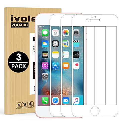 ivoler 3 Unidades Protector de Pantalla para iPhone 6S Plus/iPhone 6 Plus,...