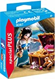 PLAYMOBIL Especiales Plus-9087 Pirata con Tesoro, Multicolor, única (9087)