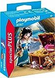 PLAYMOBIL Especiales Plus- Pirata con Tesoro, única (9087)