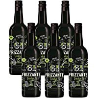 61 Frizzante - 6 Botellas de 750 ml - Total: 4500 ml