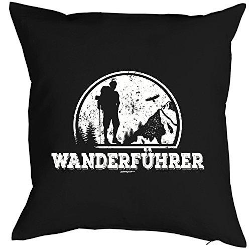 Art & Detail Shirt Coussin : Wander Führer Petit cadeau avec motif de pression