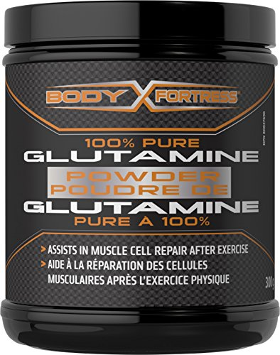 Body Fortress 100% Pure Glutamin Powder, Assist in Muscle Repair, 300g