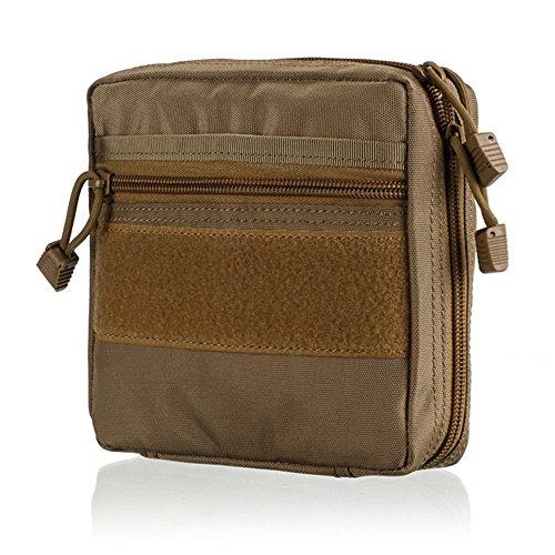 Sawpy 1000D Nylon Survival Bag - Kit de Primeros Auxilios multifunción portátil Bolsa de Supervivencia Kit médico táctico Herramienta de Utilidad Bolsa de cinturón Herramienta de Supervivencia