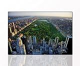 Berger Designs - Stadtbild als Kunstdruck Manhattan Central