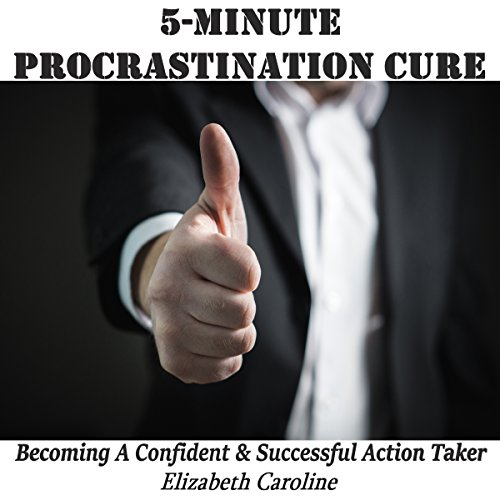 5-Minute Procrastination Cure audiobook cover art
