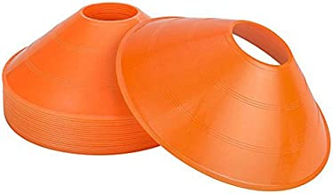 B0749D7H5G Sohapy 20 Pack Orange Field Disc Cones Markers for Sports,Outdoor,Training