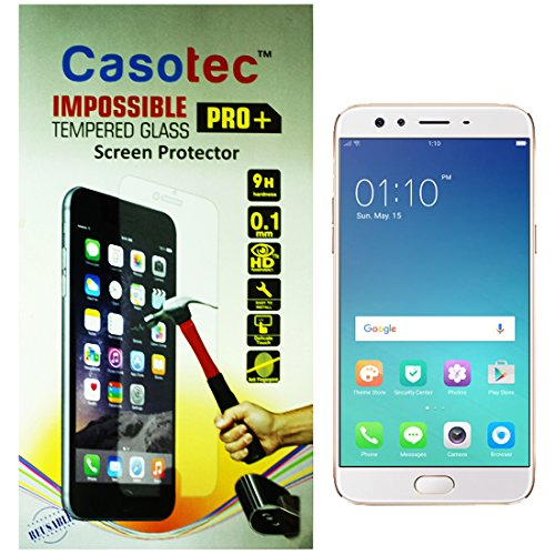 Casotec Impossible Tempered Glass Screen Protector for Oppo F3