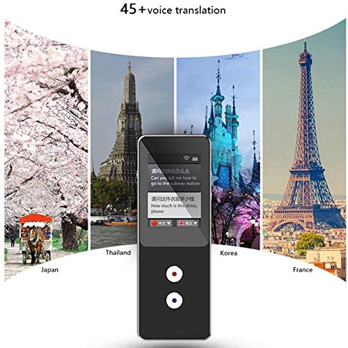 Smart Offline Translator 2.4' Screen Portable Two-Way Real-Time Language Translator Translation with 32G Storage Support 4G Card