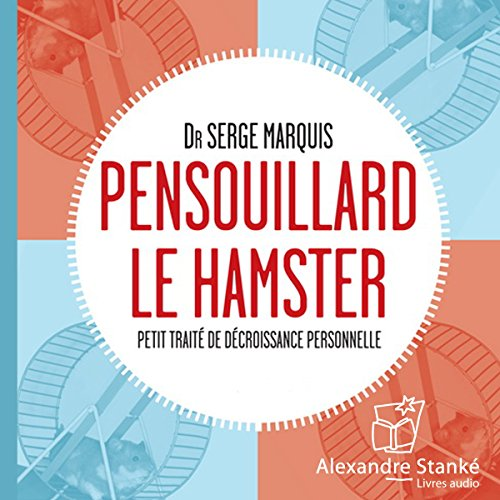 Pensouillard le hamster audiobook cover art