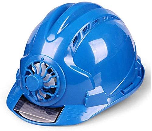 Schutzhelm, vor Ort geschlossener Lüfterhelm, Solarladung, Sommerkühlung, Bau, technischer Helm
