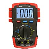 Triplett Compact CAT III 1999 Count Digital Multimeter - AC/DC Voltage, DC Current, Resistance, Temperature, Continuity, and Diode Check (1201)