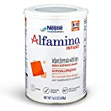Alfamino Infant Amino Acid Based Infant Formula with Iron, Unflavored, 14.1 Ounces (Packaging May...