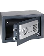 HMF 4612112 Caja fuerte cerradura electrónica 31 x 20 x 20 cm, antracita