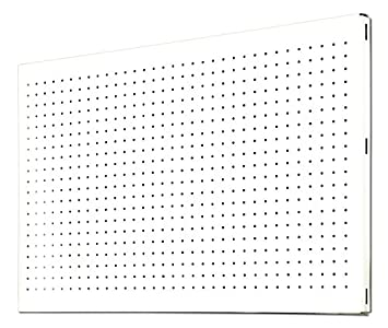 Simonrack 20231204008 Panel metálico perforado (1200 x 400 mm) color blanco