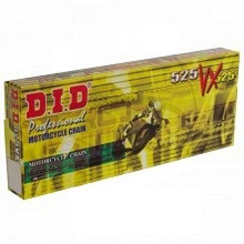 DID Kettensatz Kit | 525VX | gold | Honda CB 600 F Hornet, Y, PC34A, Bj. 2000