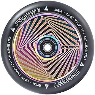 120mm Hollowcore Hypno Wheels - Square Oil Slick