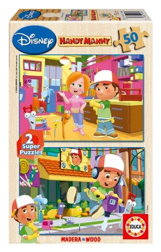 Super Puzzles Disney - Juego 2X50 Manny Manitas (Educa Borrás - 14361)