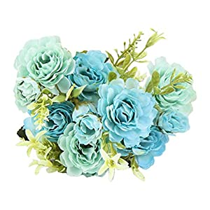 Daliuing Artificial Flowers Plants Floral Greenery for Arrangements Wedding Decoration