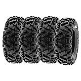 SunF 28x11-12 28x11x12 Tubeless 6 PR 28' ATV UTV Tires A033 POWER I [Set of 4]