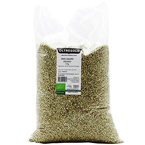 Oltresole - Grano Saraceno crudo biologico decorticato confezione convenienza 5 kg