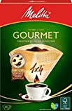 Melitta Size 1x4 Gourmet EU Aroma Zones Filterbags, Pack of 80