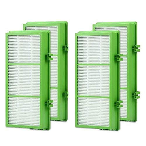 DerBlue 4 pcs Allergen Remover True HEPA Filter Compatible with Holmes AER1 Filter, Replacement Parts # HAPF300AH-U4R