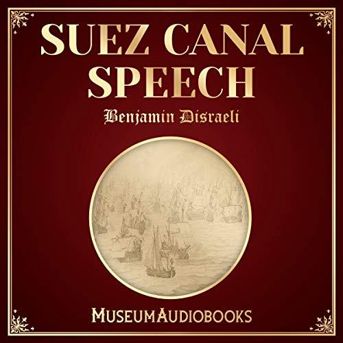 Suez Canal Speech audiobook cover art