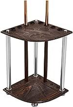 vertikales Queue-Regal mit Bodenbefestigung ROEML Freistehendes Billard Stick St/änder aus Massivholz Aufbewahrungsregal f/ür Billard-R/äume,A