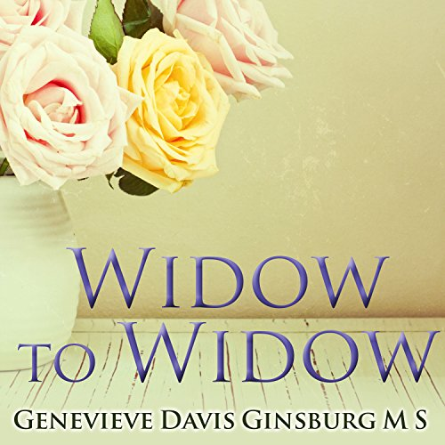 Widow to Widow  By  cover art