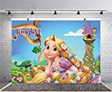 Princess Rapunzel Tangled Background Backdrops for Photography Birthday Backdrop Photo Backdrop for Girls Photo Studio Props