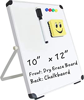 Mini Magnetic Dry Erase Board with Mirror Backed, 10 x 12