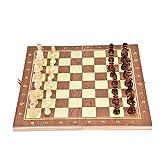 VGBEY Juego de ajedrez, Juego de Juguetes de ajedrez Hecho a Mano de...