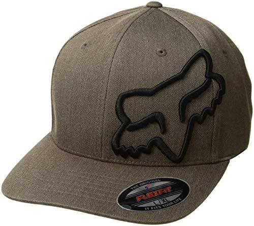 Fox Herren Clouded Flexfit HAT Baseball Cap, bark, Small/Medium