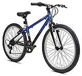 Kent International 24'' Kent 2400 Mountain Bike, Black/Blue