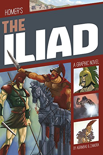 Compare Textbook Prices for The Iliad Classic Fiction  ISBN 9781496555847 by Agrimbau, Diego,Zamora, Marcelo