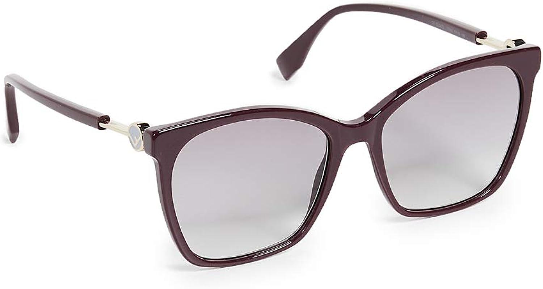 Fendi Women's Classic Square Sunglasses