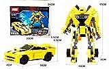 GUDI -Kit de Construccion Transformers Series 2 en 1 225 PZAS