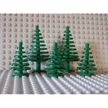 Albero Di Natale Lego.Lego Statuette Di Alberi 2 Grandi E 3 Piccoli Amazon It Giochi E Giocattoli