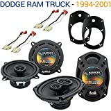 Compatible with Dodge Ram Truck 1994-2001 Factory Speaker Upgrade Harmony R69 R5...