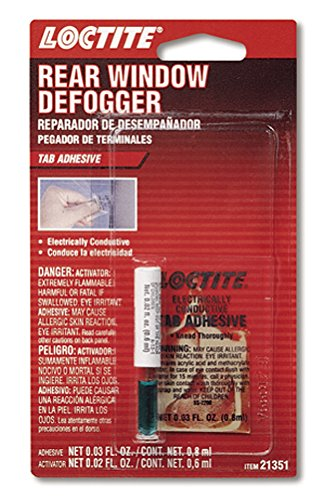 Loctite 194080 Rear Window Defogger Tab Adhesive, 0.03/0.02 fl. oz.