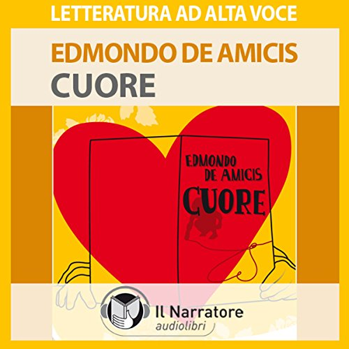 Cuore audiobook cover art