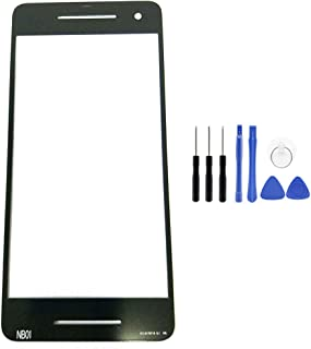 for Google Pixel 2 Panel Glass Lens - Front Panel Outer Screen Glass Lens Replacement with Opening Tool for Google Pixel 2 (Not LCD &Not Digitizer &Not Screen Protector)