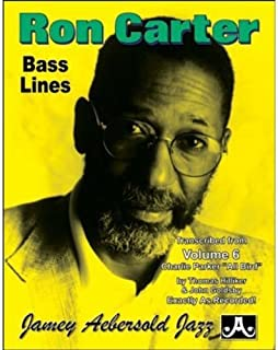 Ron Carter Bass Lines - Transcribed From Volume 6 'Charlie Parker - All Bird'