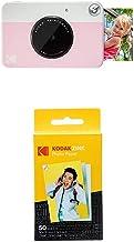 KODAK Printomatic - Cámara de impresión instantánea, Rosado + Paquete de 50 Hojas