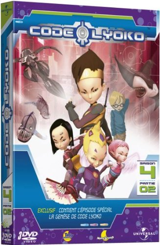 Code Lyoko - Saison 4 - Partie 02 [Francia] [DVD]