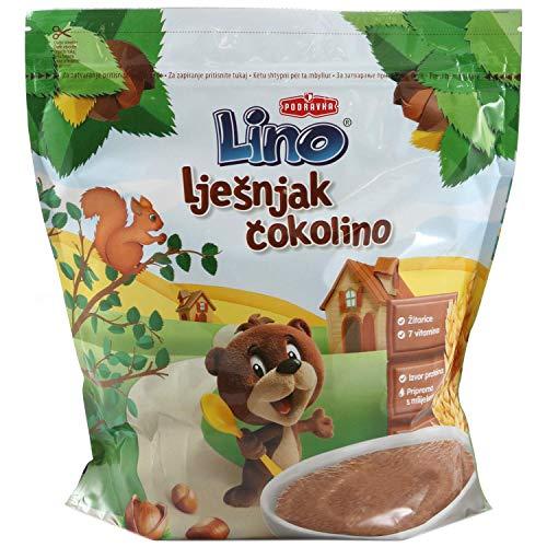 Lino Cokolino Podravka Instatflocken traditionell (Schokolade mit Haselnuss, 2 x 500 gr)