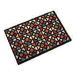 Versa 16980183 Felpudo con cuadros Multicolor